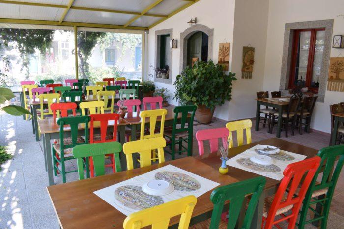 Kafeneion - taverna open air