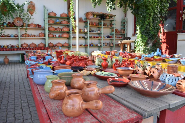 Traditional items shop